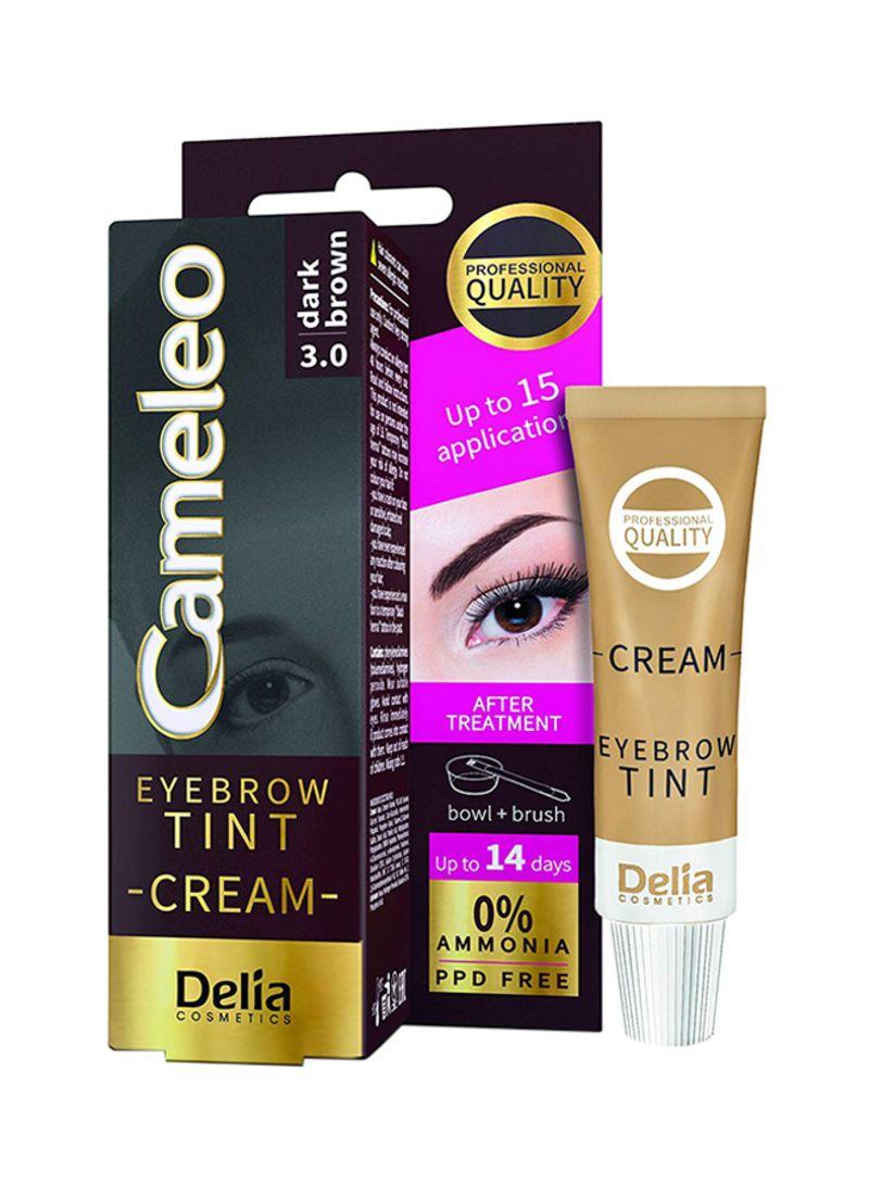 34e434aae Shop Delia Cameleo Eyebrow Tint Cream Kit 3.0 Dark Brown online in ...