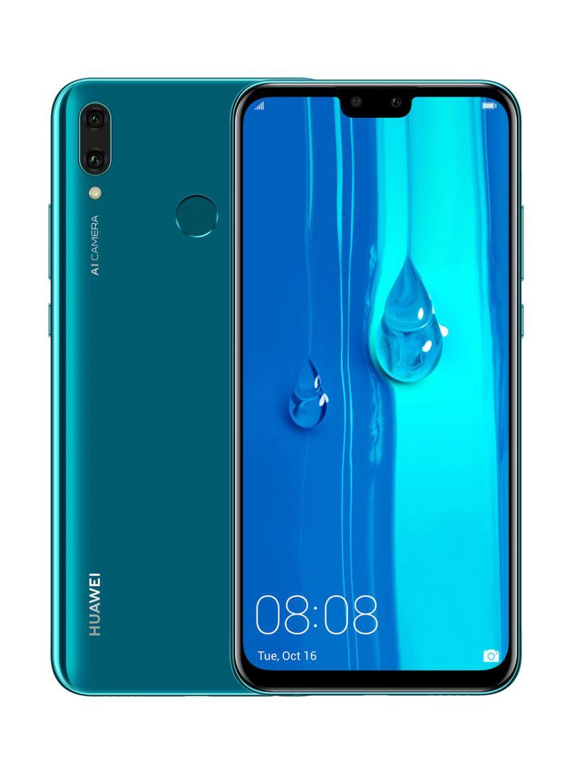 Shop Huawei Y9 (2019) Dual SIM Sapphire Blue 4GB RAM 128GB 4G LTE online in  Dubai, Abu Dhabi and all UAE