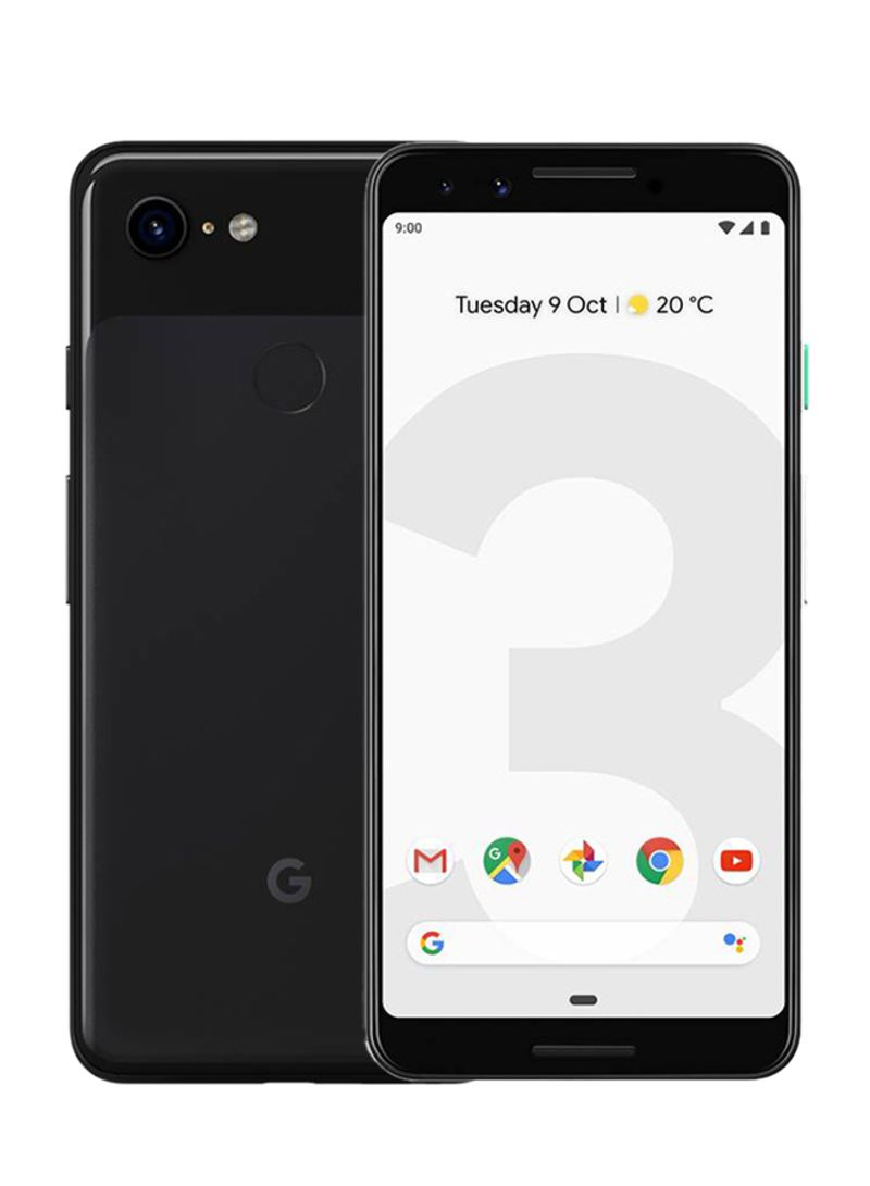 Shop Google Pixel 3 Just Black 64gb 4g Lte Online In Riyadh Jeddah And All Ksa