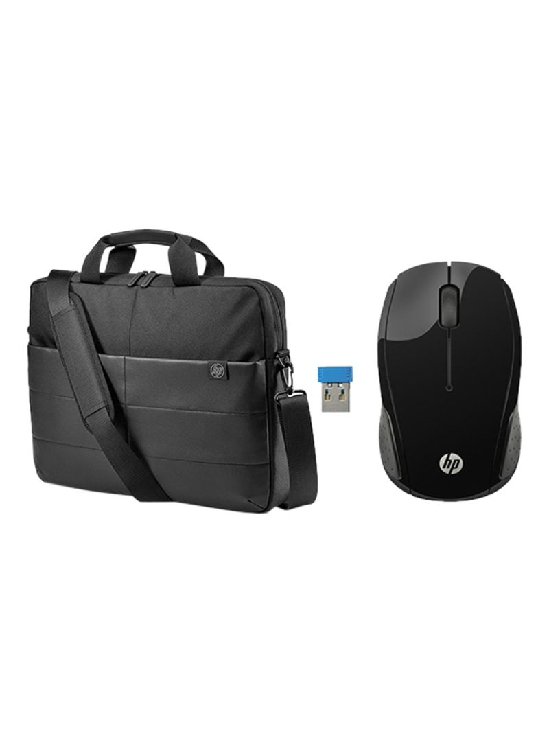 0b7ed53d33b otherOffersImg_v1539261473/N18218918A_1. HP. Classic Briefcase For 15.6-Inch  Laptop With Wireless Mouse ...