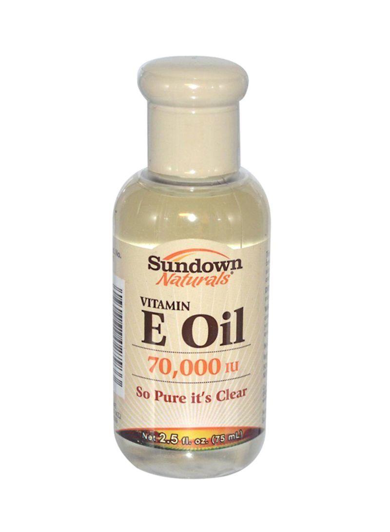 Shop sundown Naturals Pure Vitamin E Oil 70000 IU 75 ml online in Riyadh,  Jeddah and all KSA