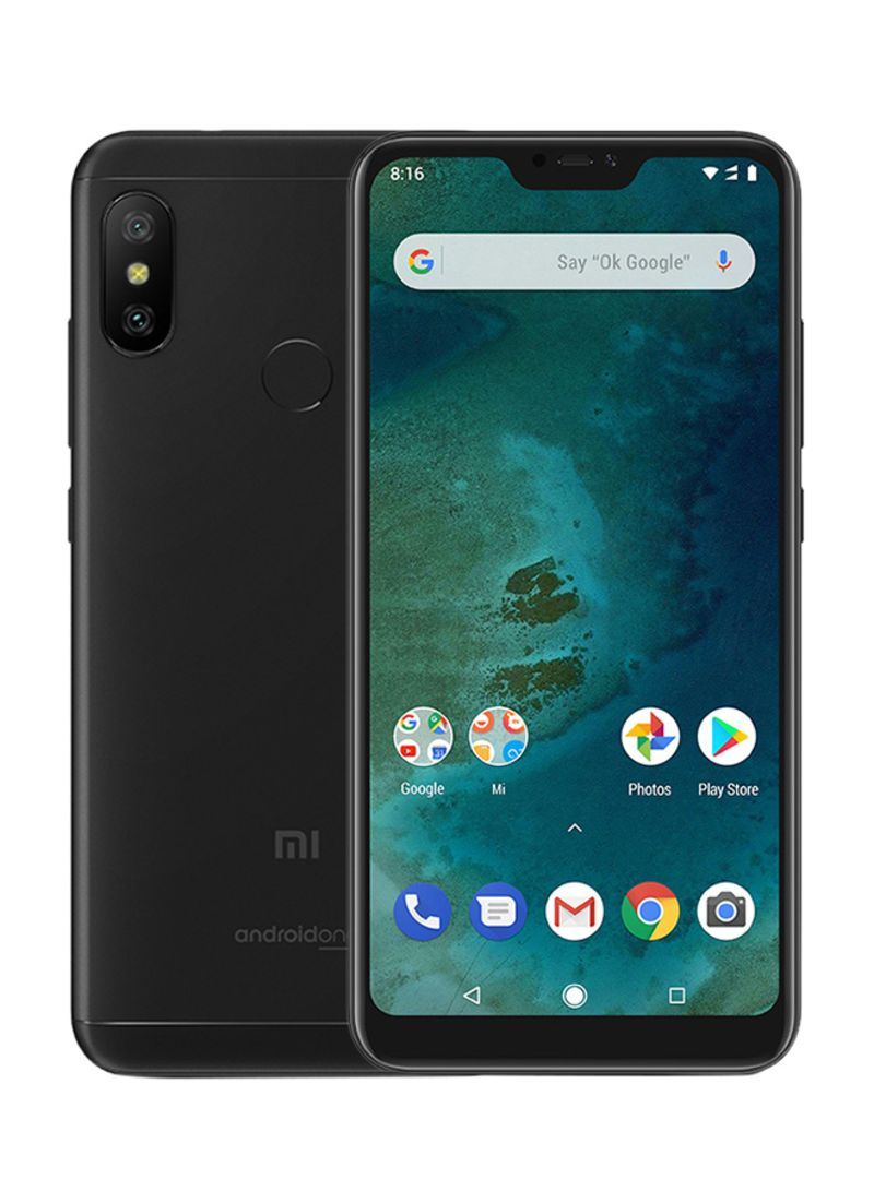 Shop Xiaomi Mi A2 Lite Dual SIM 64GB Black LTE online in Dubai, Abu Dhabi  and all UAE