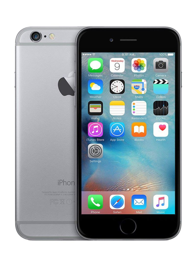 Shop Apple iPhone 6 Plus With FaceTime 16GB 4G LTE Space Grey online in  Egypt