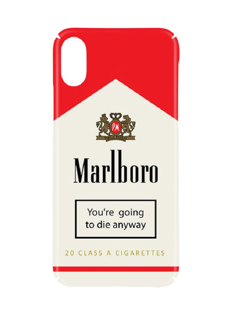 Shop Switch Protective Case Cover For Apple iPhone XS Marlboro Classic  online in Riyadh, Jeddah and all KSA