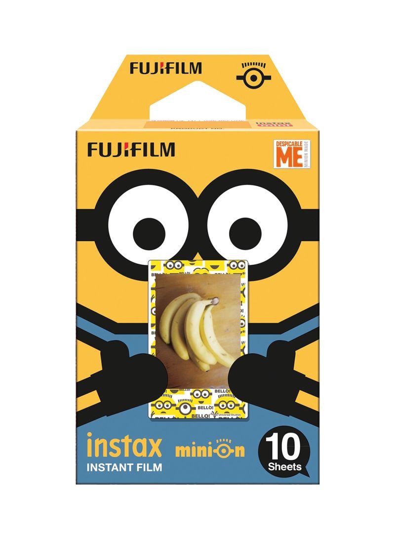 10-Piece Instax Minion Instant Film White
