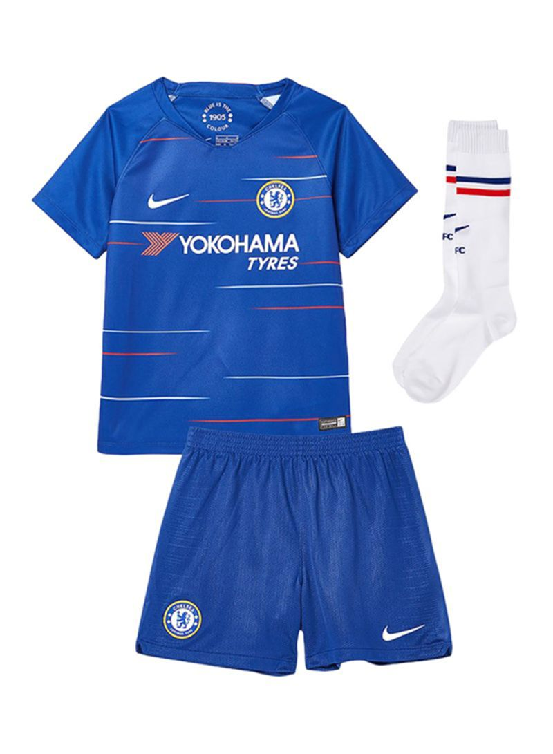 low priced f07cf 68f1c Shop Nike Chelsea FC Jersey Set Rush Blue/White online in ...