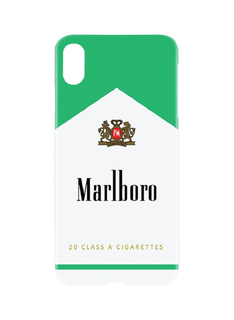 Shop Switch Protective Case Cover For Apple iPhone XS Max Marlboro Menthol  online in Dubai, Abu Dhabi and all UAE