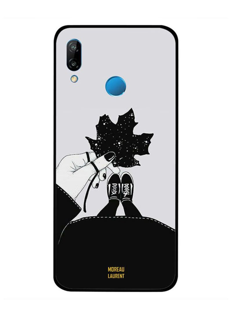 Shop Moreau Laurent Protective Case Cover For Huawei Nova 3i Girl Holding  Leaf In Hand online in Dubai, Abu Dhabi and all UAE