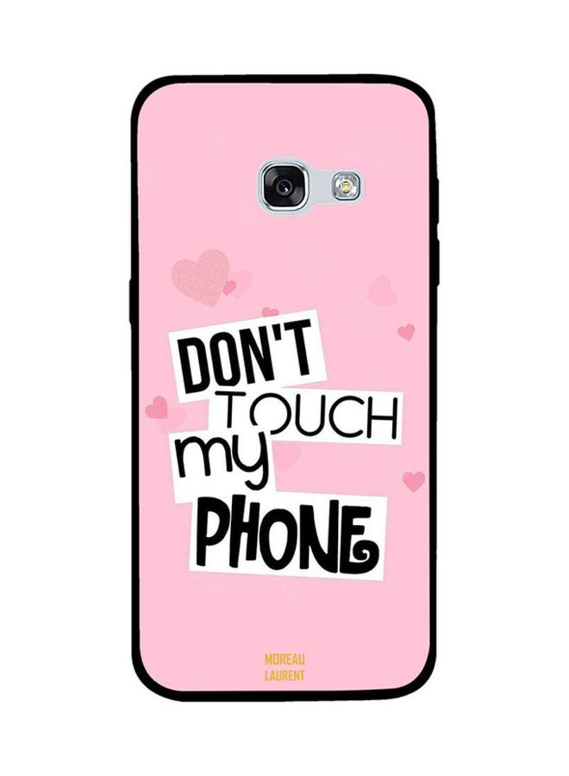 cover samsung galaxy a3 2017 don't touch my phone