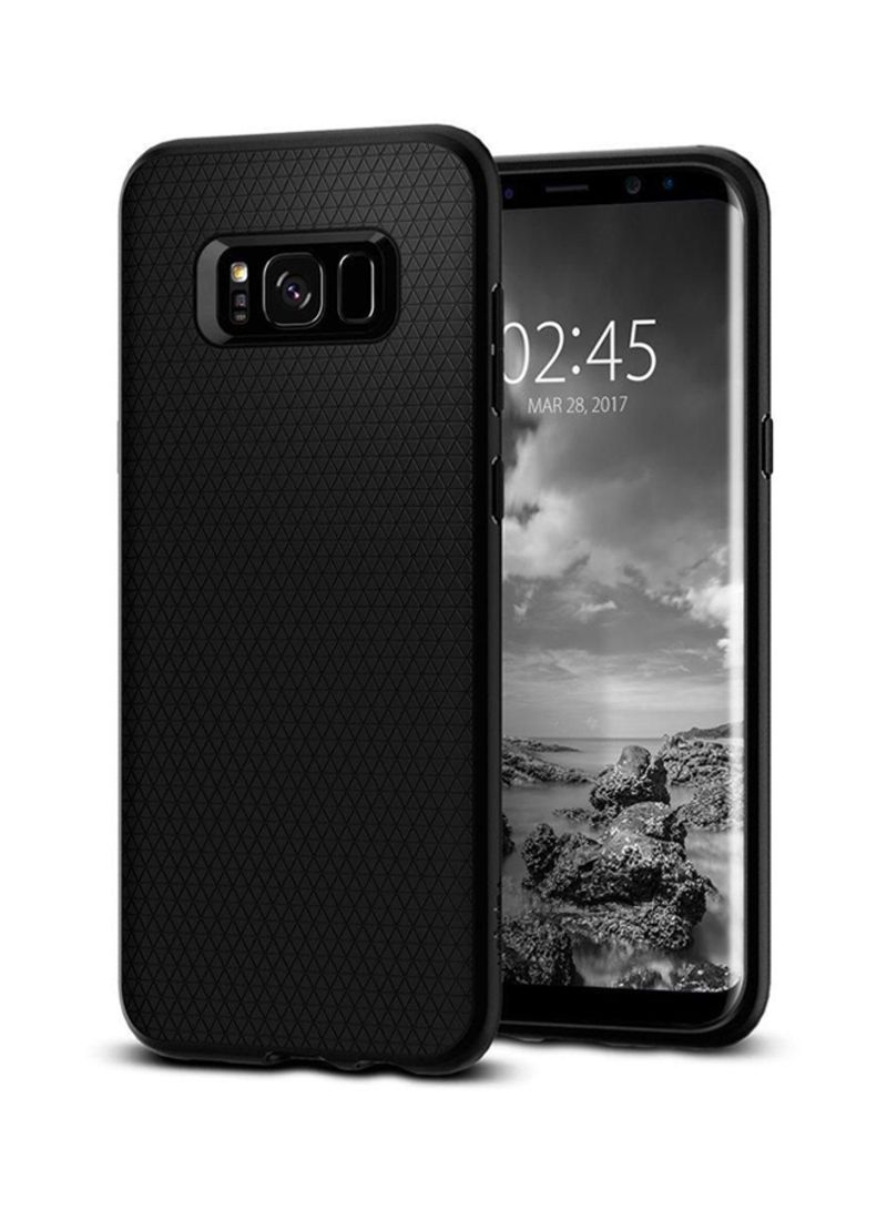 huge selection of 81702 281bb Shop Spigen Protective Case Cover For Samsung Galaxy S8+ Black online in  Riyadh, Jeddah and all KSA