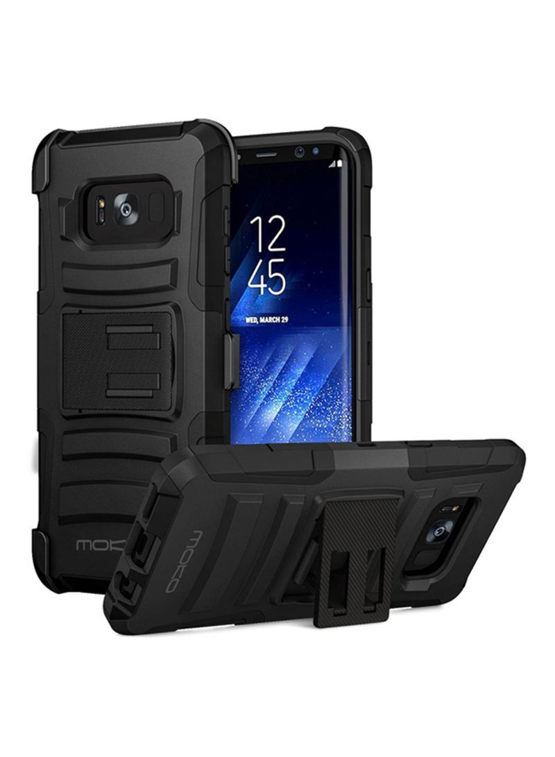 new styles 9467b 8e359 Shop MoKo Shockproof Case Cover With Kickstand For Samsung Galaxy S8 ...