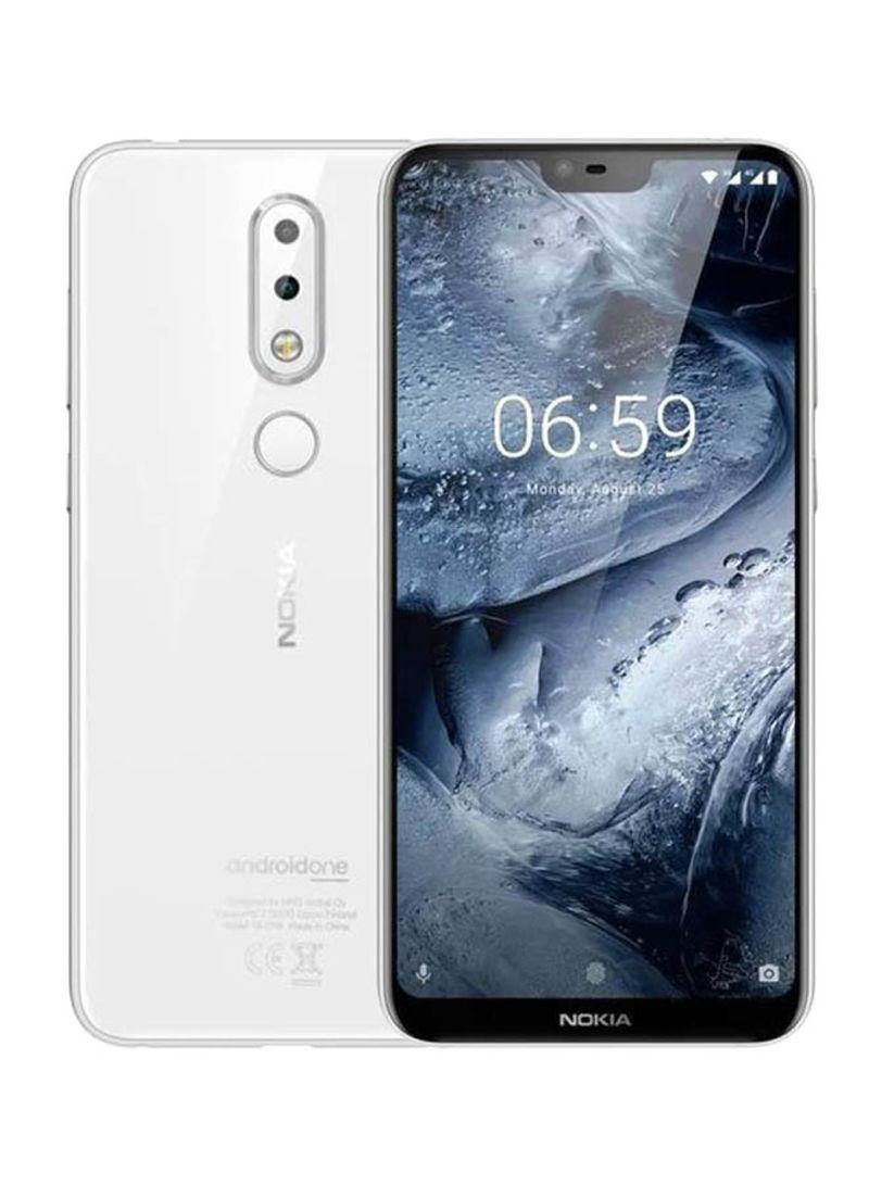 Shop Nokia 6 1 Plus Dual SIM White 64GB 4G LTE online in Riyadh, Jeddah and  all KSA