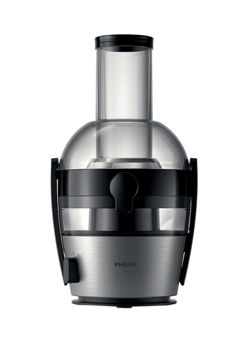 Shop Philips Juicer 800W HR1863 GreyClearBlack online in Dubai, Abu Dhabi and all UAE