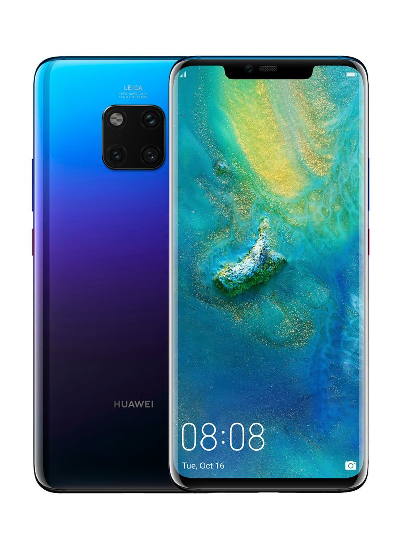Shop Huawei Mate 20 Pro Dual SIM Twilight 128GB 4G LTE online in Riyadh,  Jeddah and all KSA