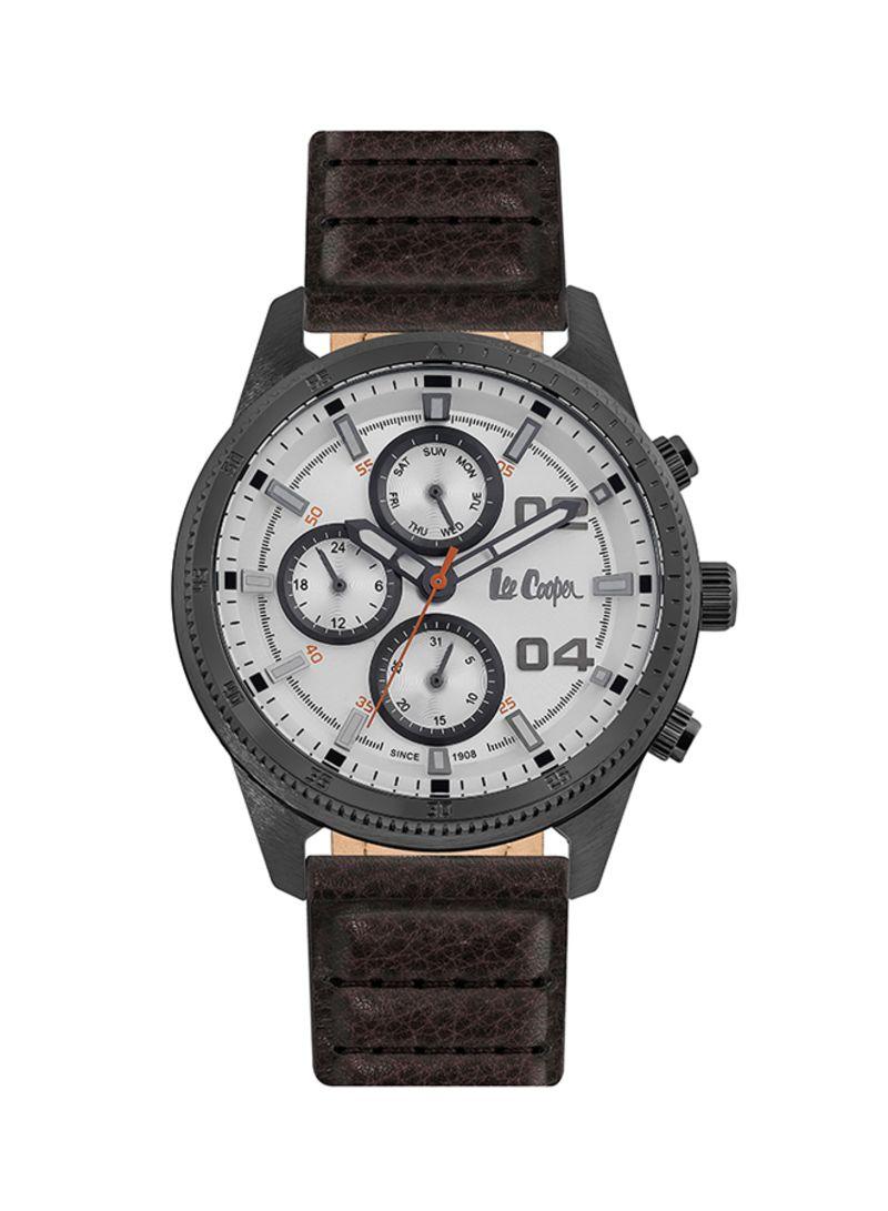 a19a09bda4b9 Shop Lee Cooper Men's Water Resistant Analog Watch LC06592.032 ...