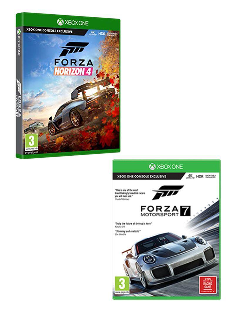 Shop Microsoft Forza Horizon 4 + Forza Motorsport 7 - Xbox One online in  Dubai, Abu Dhabi and all UAE