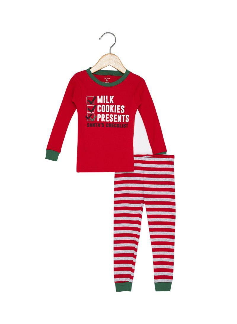 2ea7dac65d6b Shop carter s 2-Piece Printed Pyjama Set Red Grey online in Dubai ...