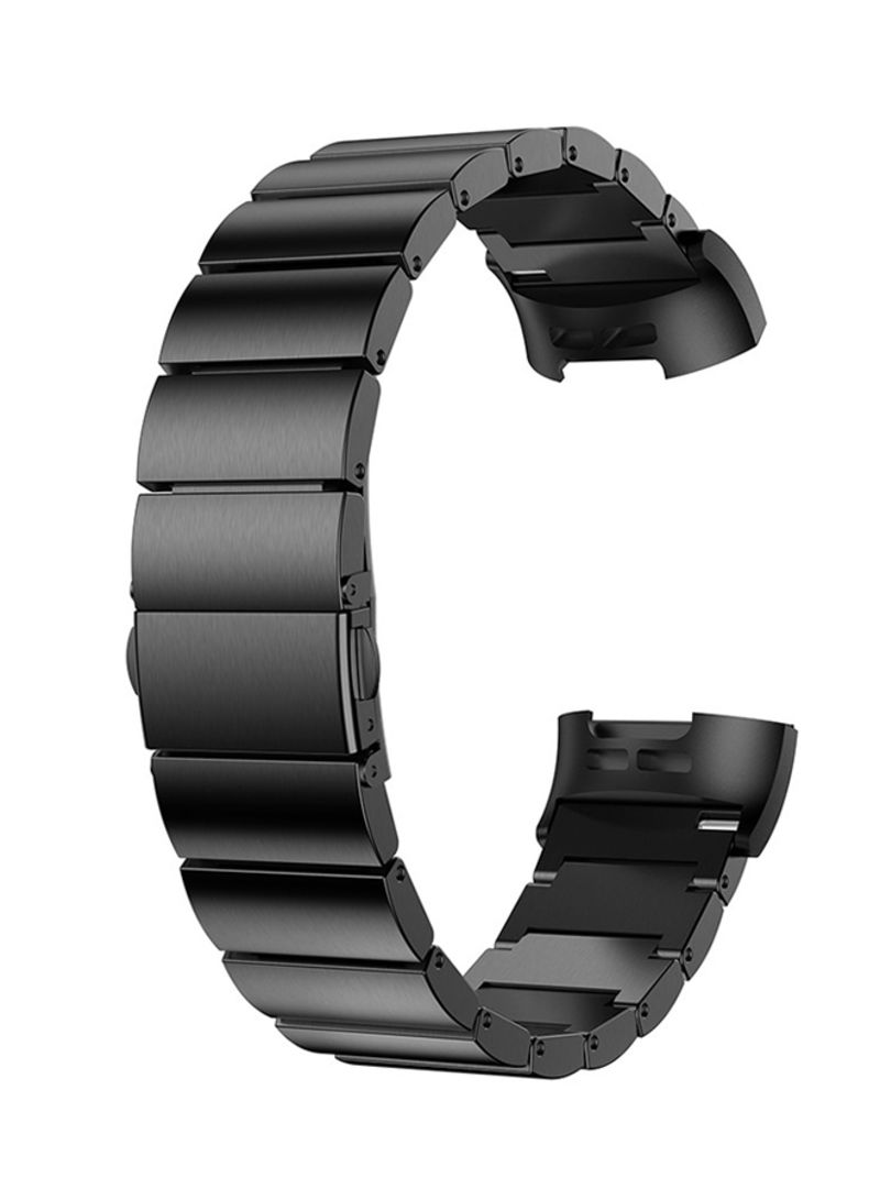 7b1840fd2 Shop Voberry Replacement Strap Band For Fitbit Charge 3 Black online ...
