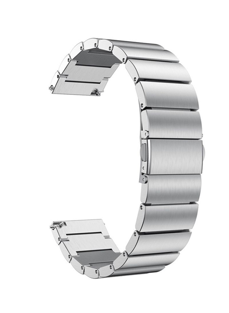 Shop Voberry Replacement Band For Samsung Galaxy Watch 46mm Silver online  in Dubai, Abu Dhabi and all UAE