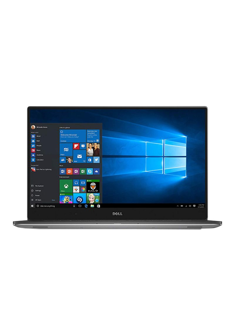 Shop Dell XPS 15 With 15 6-Inch Display, Processor/32GB RAM/2TB SSD/4GB  NVIDIA GeForce GTX 1050 Graphics Card Silver online in Dubai, Abu Dhabi and