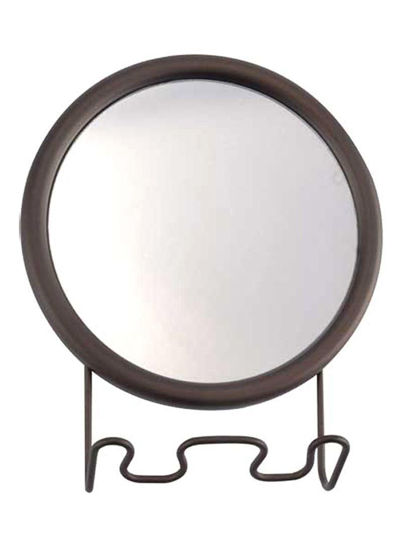 Shower Shaving Mirror With Razor Holder And Sucti Interdesign Forma Power Lock