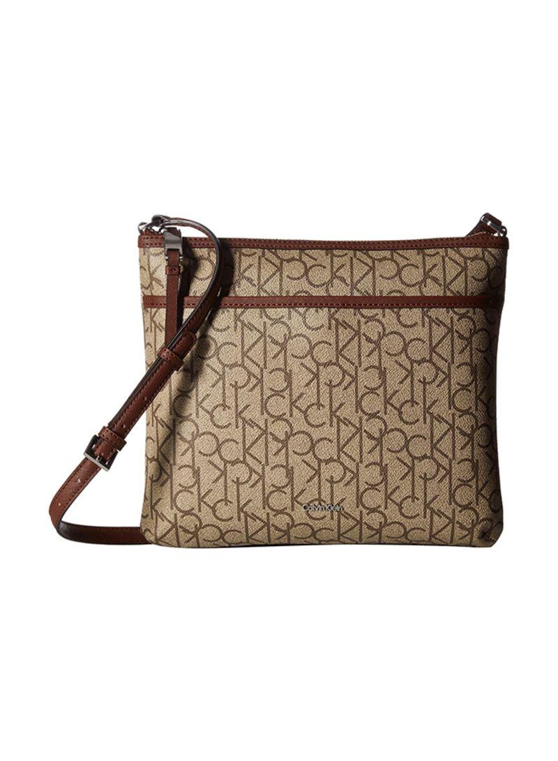 b6c4c4826b Shop Calvin Klein Monogram Large Crossbody Bag online in Egypt