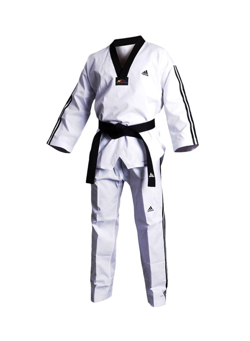 Shop adidas Taekwondo Adi Flex 3 Martial Arts Suit Set Size 150 150 online in Dubai, Abu Dhabi and all UAE