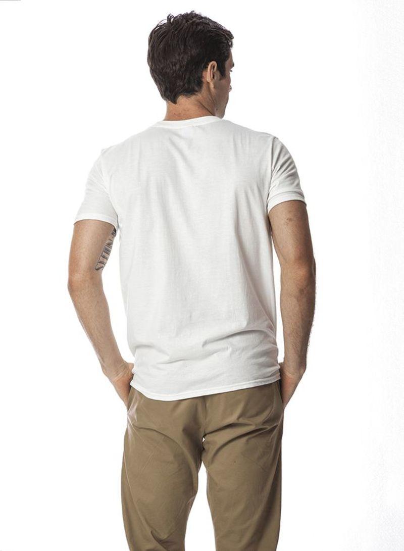 Shop SANTHOME Motivation Series Short Sleeve T Shirt White