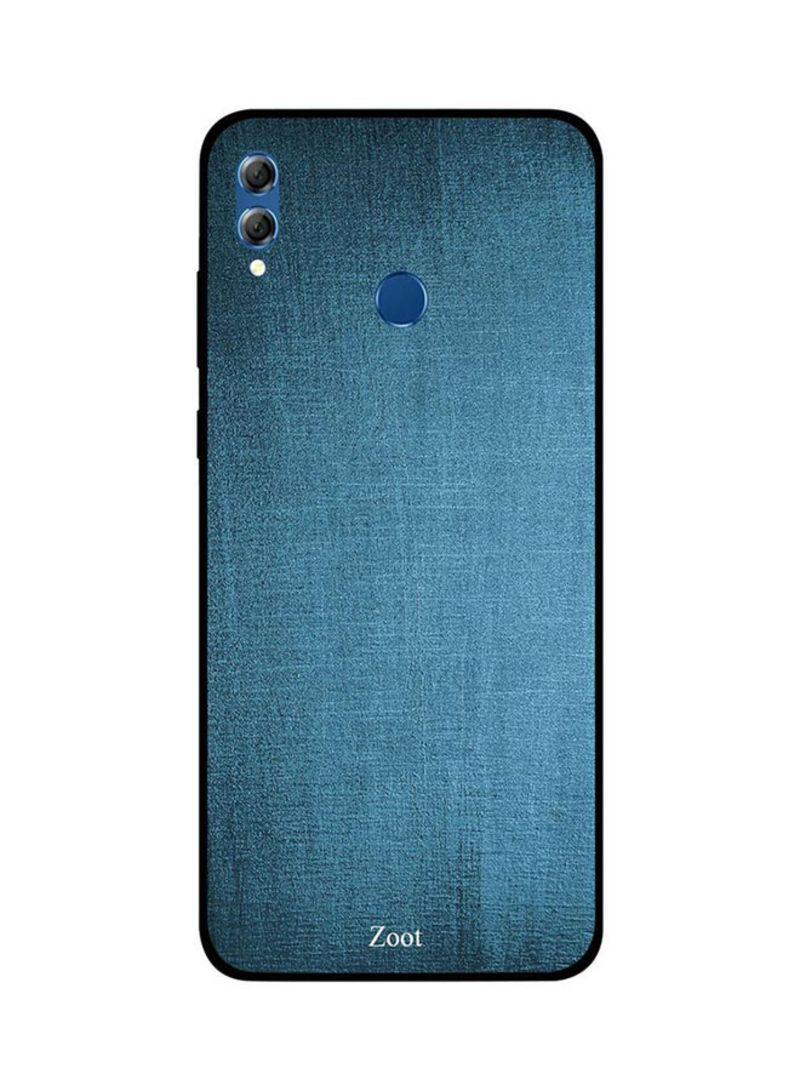 promo code d4a8e 4c0cc Shop Zoot Protective Case Cover For Huawei Honor 8X Cloth Bluish Printed  online in Dubai, Abu Dhabi and all UAE