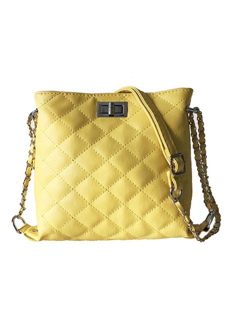 795a48f3ea81f تسوق بدون ماركة وAdjustable Strap Leather Crossbody Bag أونلاين في ...
