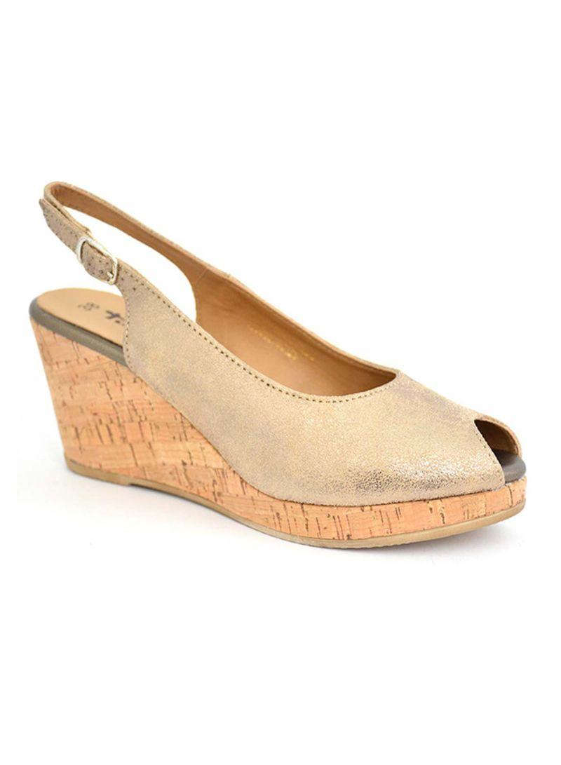 d55070eb4d9 Shop Tamaris Peep Toe Wedge Sandals online in Dubai, Abu Dhabi and all UAE
