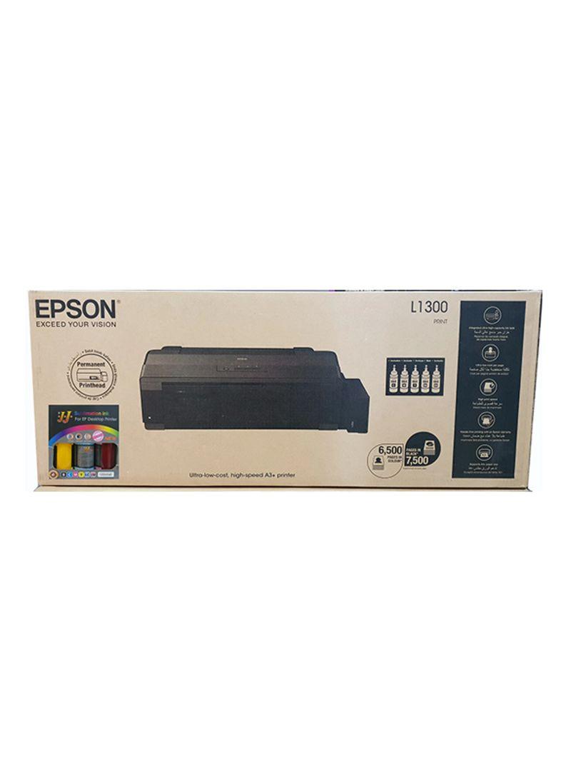 Shop EPSON L1300 Inkjet Printer With Sublimation Ink Black