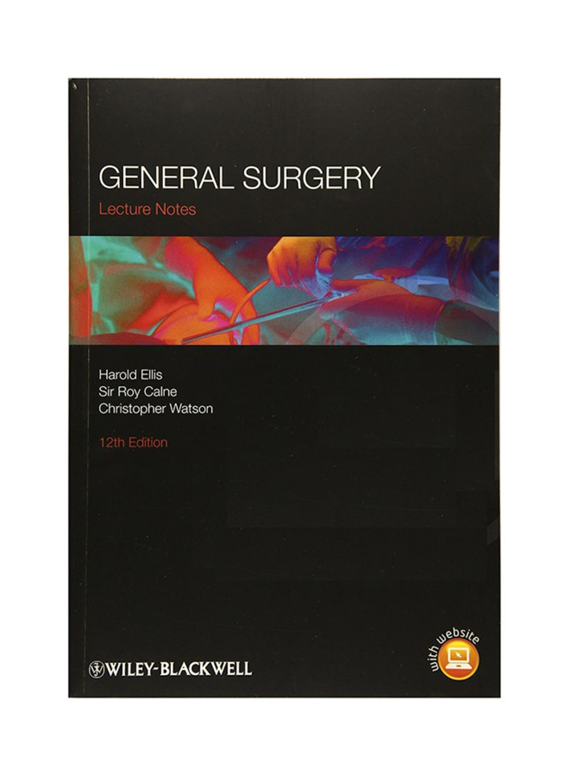 Shop General Surgery: Lecture Notes 12 Paperback online in Riyadh, Jeddah  and all KSA