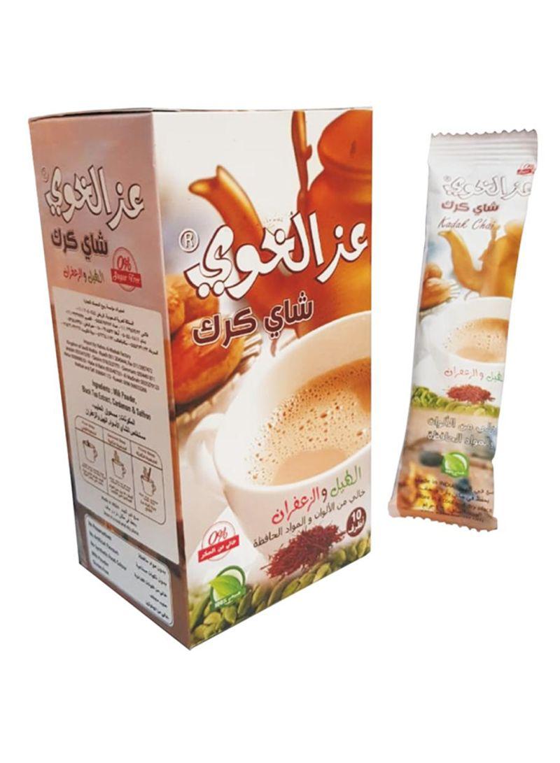 تسوق عز الخاوي وشاي كرك خالٍ من السكر بالهيل والزعفران وزن 160 غرام 160غم  أونلاين في مصر
