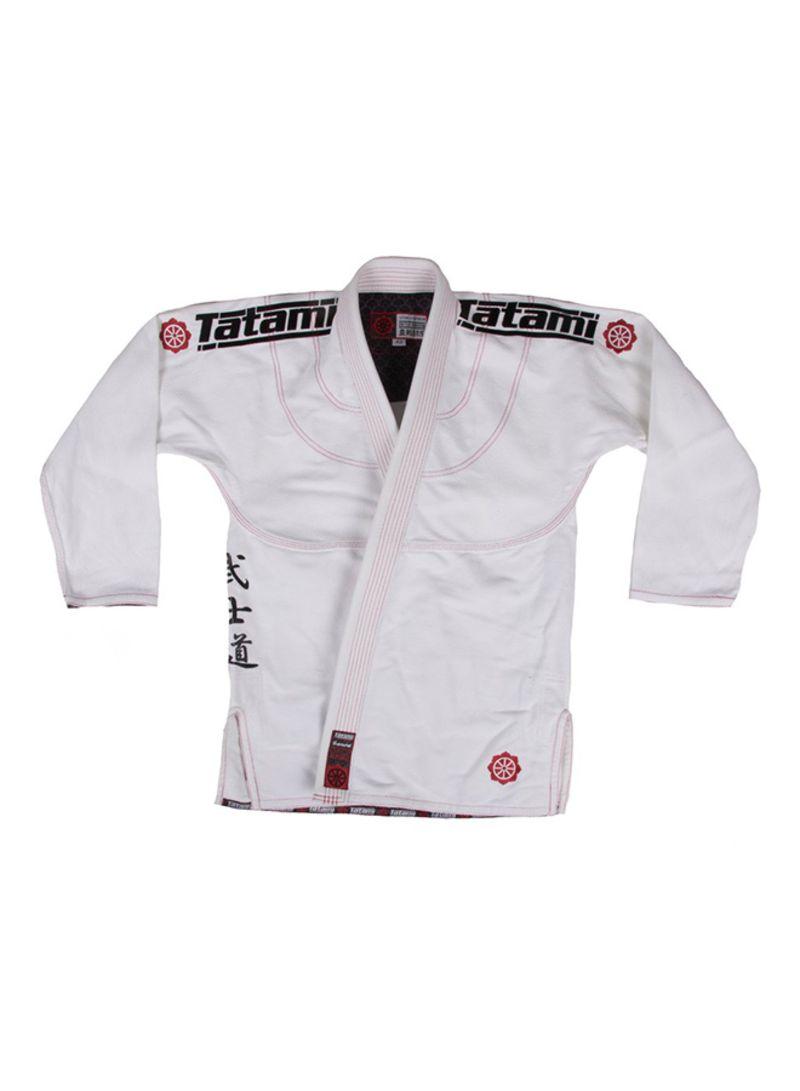 Tatami Samurai Ladies BJJ Gi White Brazilian Jiu Jitsu Womens Suit Uniform
