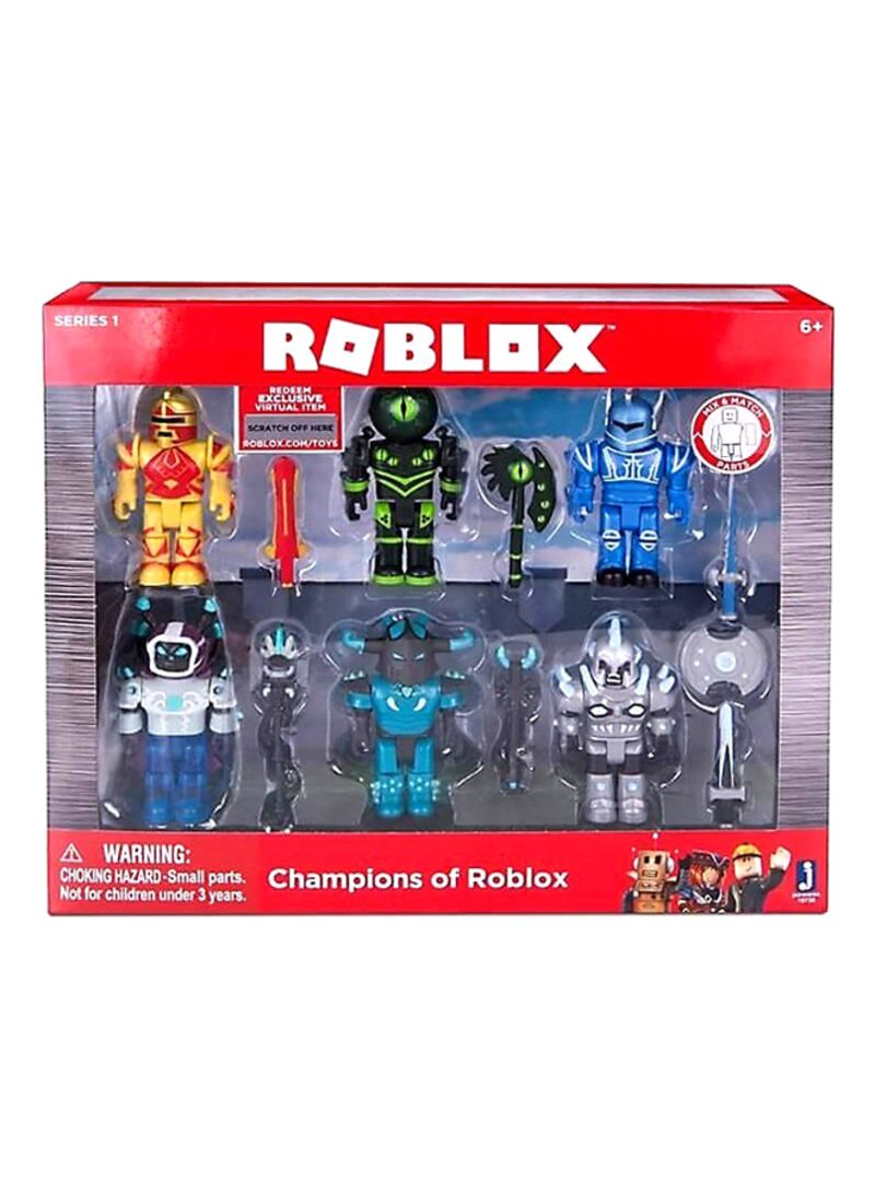 Shop Roblox Bride Single Figure Pack Online In Dubai Abu Dhabi And All Uae - Shop Roblox 6 Piece Champions Set Online In Dubai Abu Dhabi