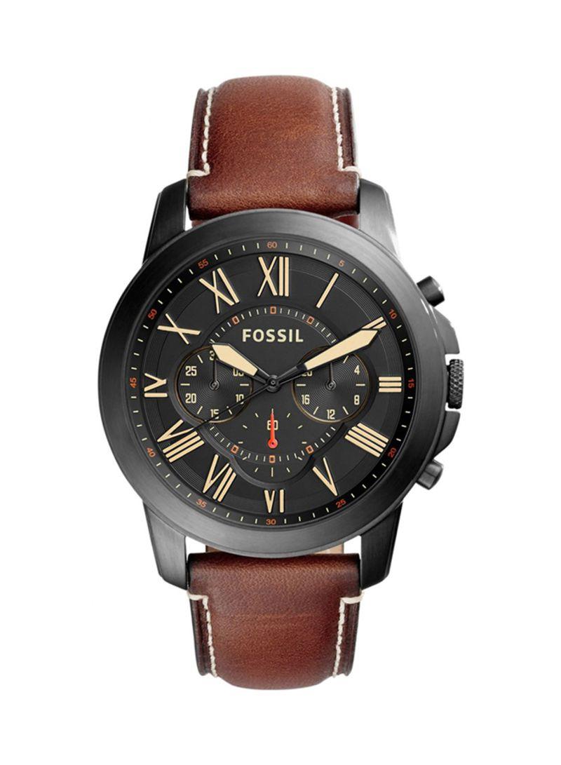 f39895246 Shop Fossil Men's Leather Analog Watch FS5241 online in Riyadh ...