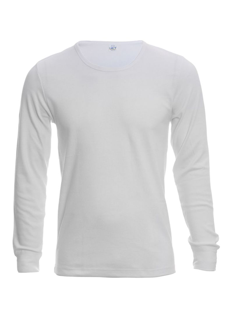 f32a2163c2a1 Shop Jet Long Sleeve Undershirt White online in Dubai, Abu Dhabi and ...