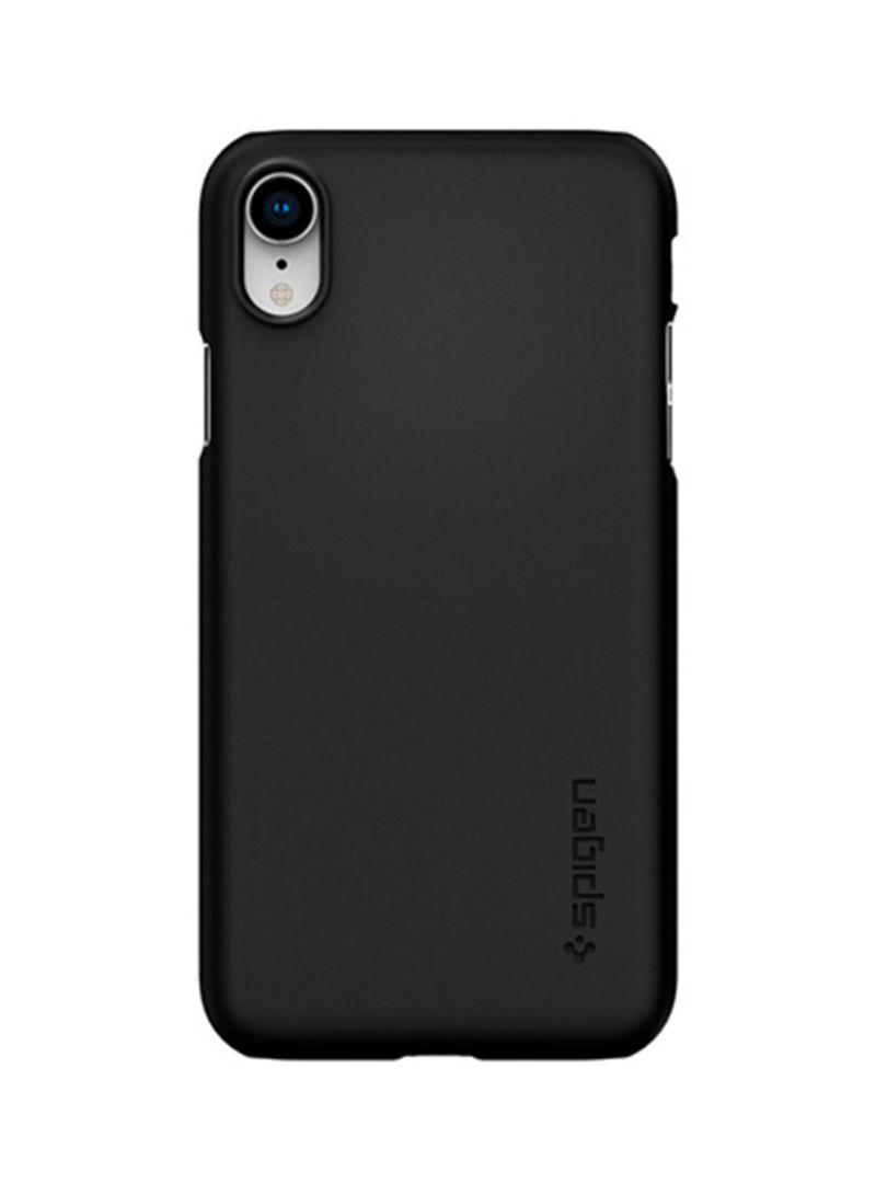 reputable site d81e8 09926 Shop Spigen New Thin Fit Case For iPhone XS Black online in Dubai ...