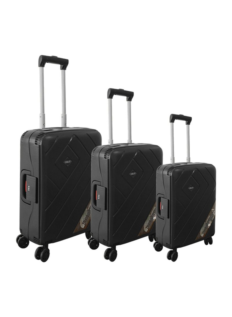 650d069d40328 تسوق سولو وطقم حقائب سفر بعجلات مكون من 3 قطع أونلاين في السعودية