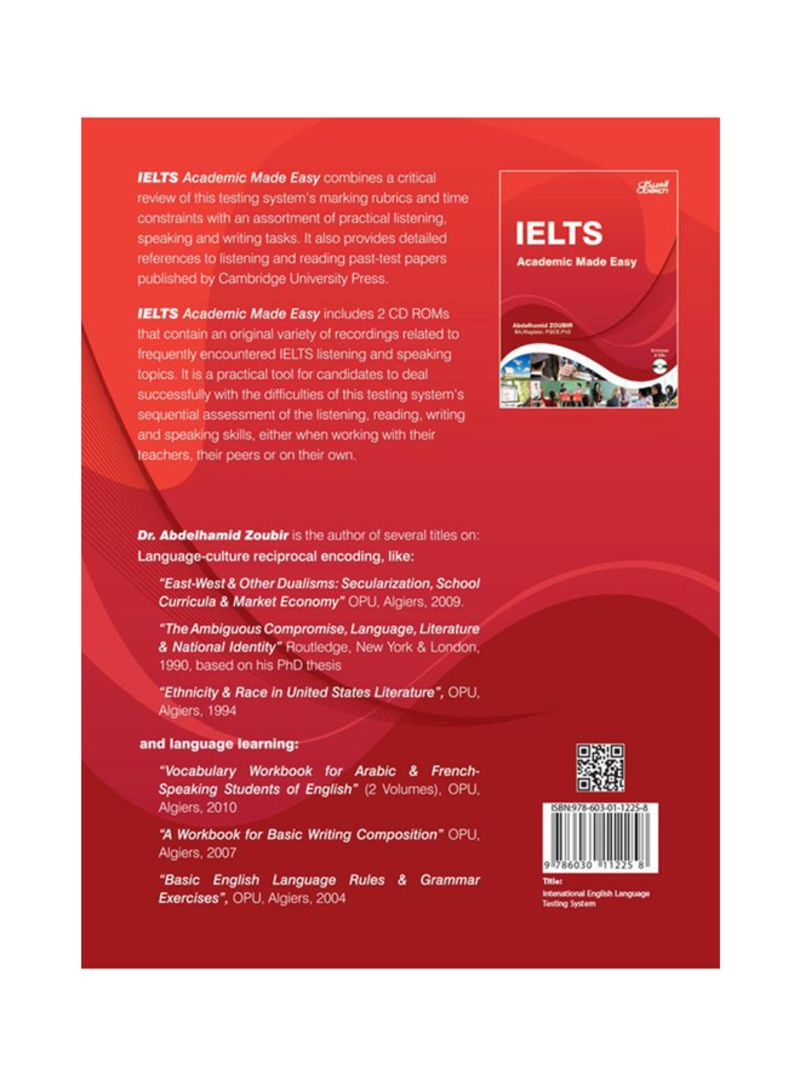 Shop IELTS -Academic Made Easy+2CD 1 Paperback online in Dubai, Abu