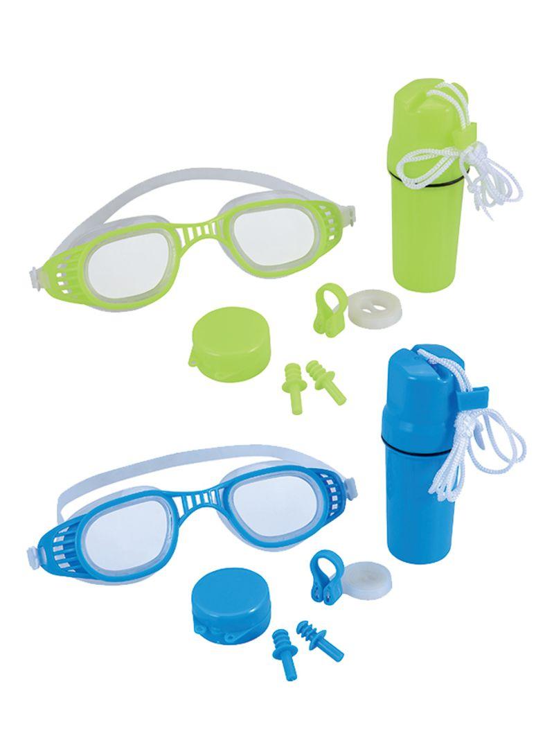 بستواي وطقم هيدرو سويم واقي للسباحة من 4 قطع بألوان مختلفة