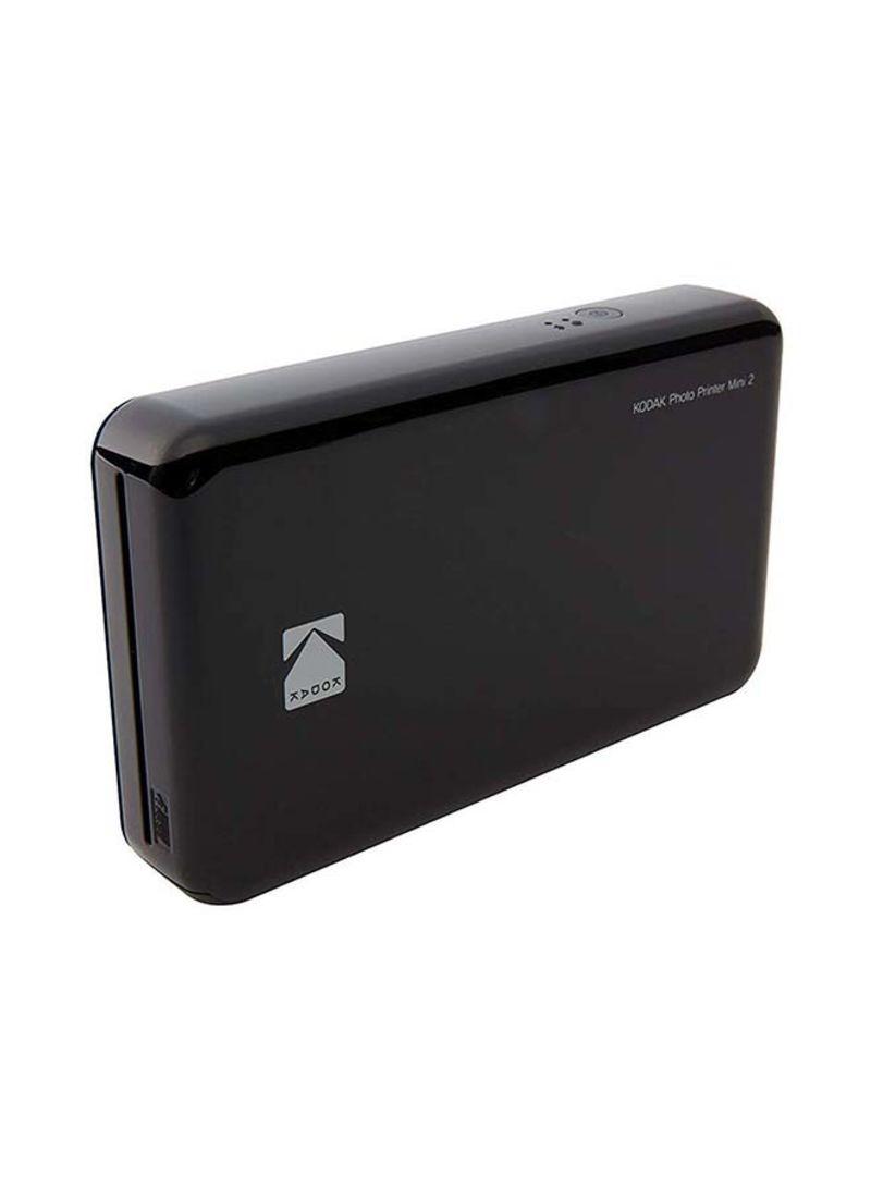 Shop Kodak Mini 2 Instant Wireless Photo Printer 620 Mah Black