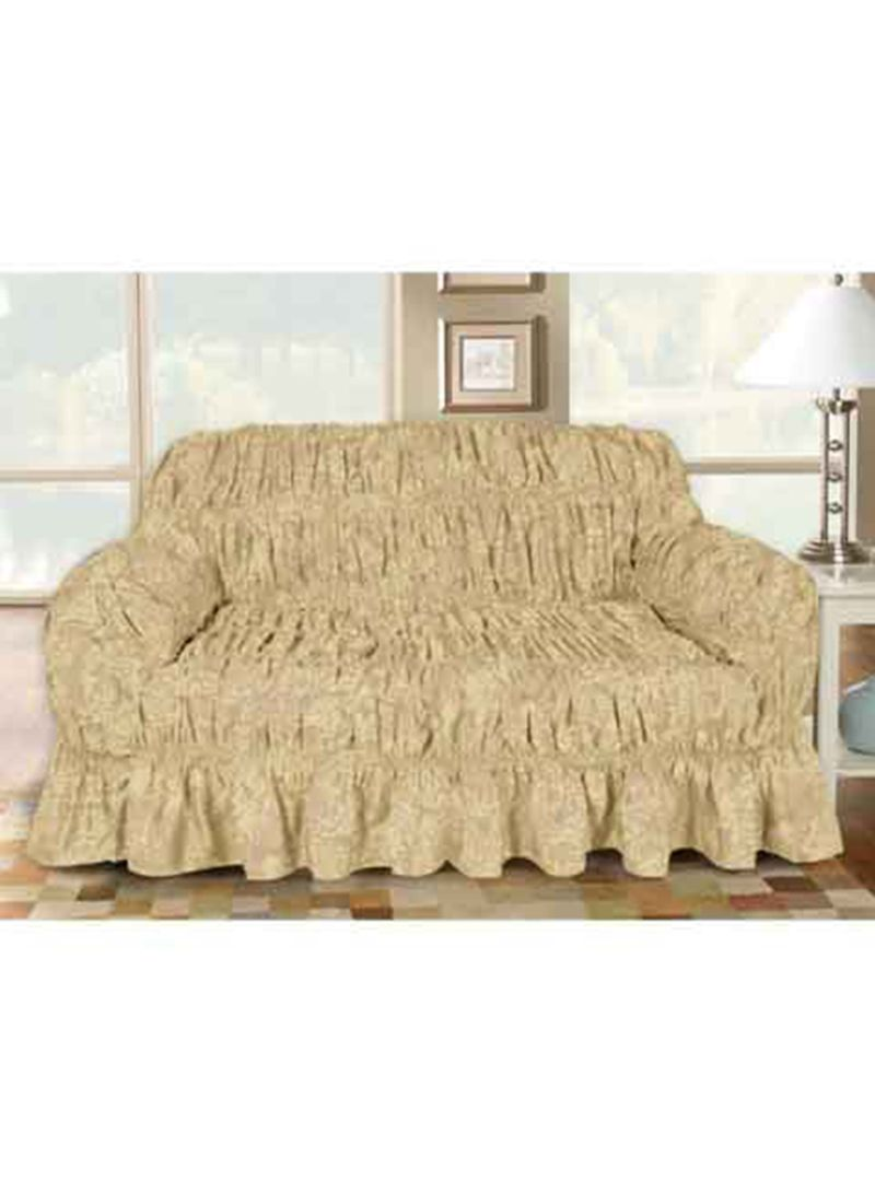 Micasa 3 Seater Sofa Cover Beige