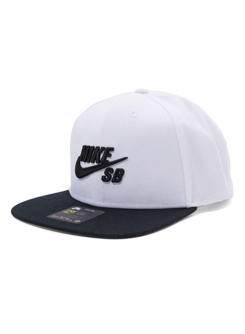 Shop Nike U NK Pro Cap White Black online in Riyadh 672181bbde4d