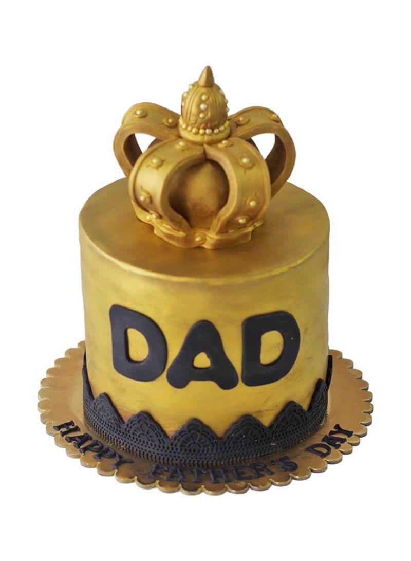 Shop Pastel CAKES Dad, My King Cake Chocolate & Hazelnut 2 kg online ...