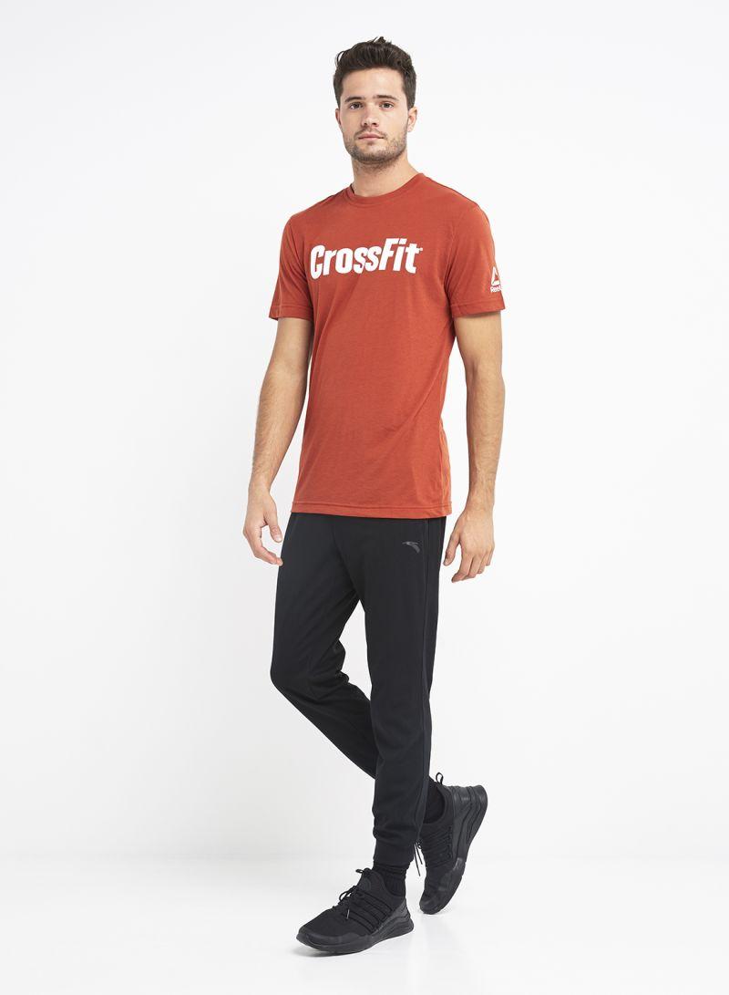 32a6eda88a28 otherOffersImg v1542270691 N15096049A M1. Reebok. Crossfit Speedwick F.E.F.  Graphic Print T-Shirt Orange