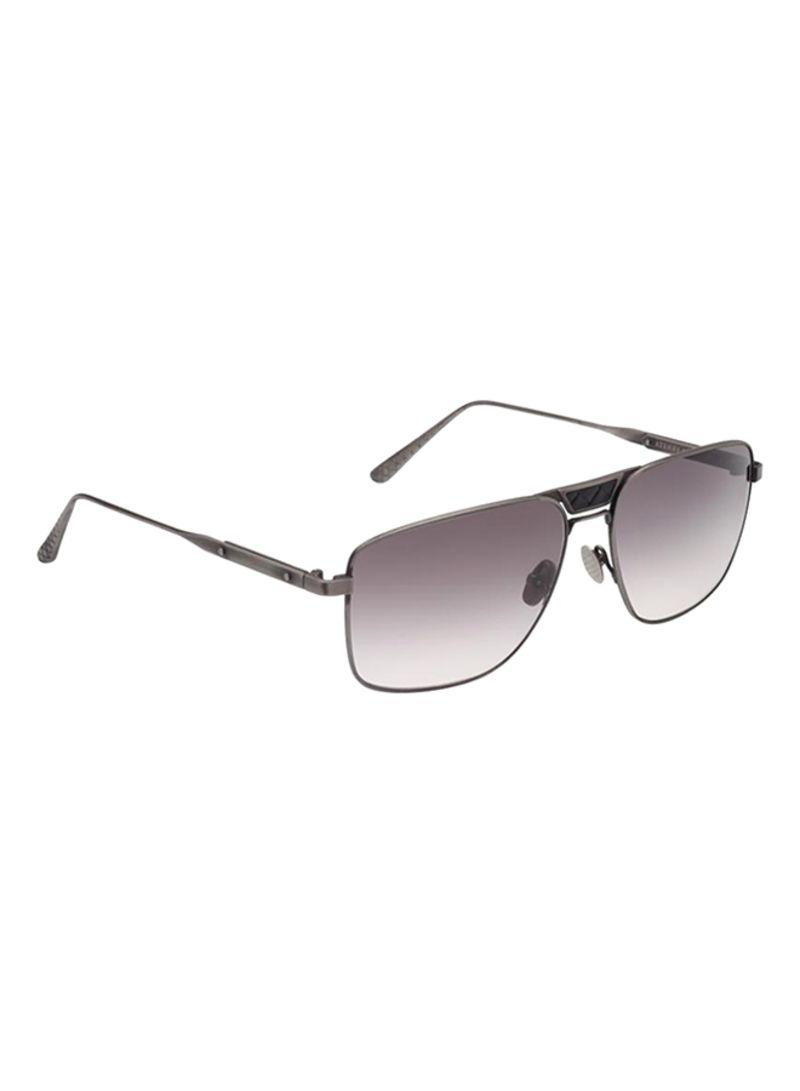 8a2f598fd1cc5 Shop BOTTEGA VENETA Men s Square Sunglasses BV0052-002-60 online in ...