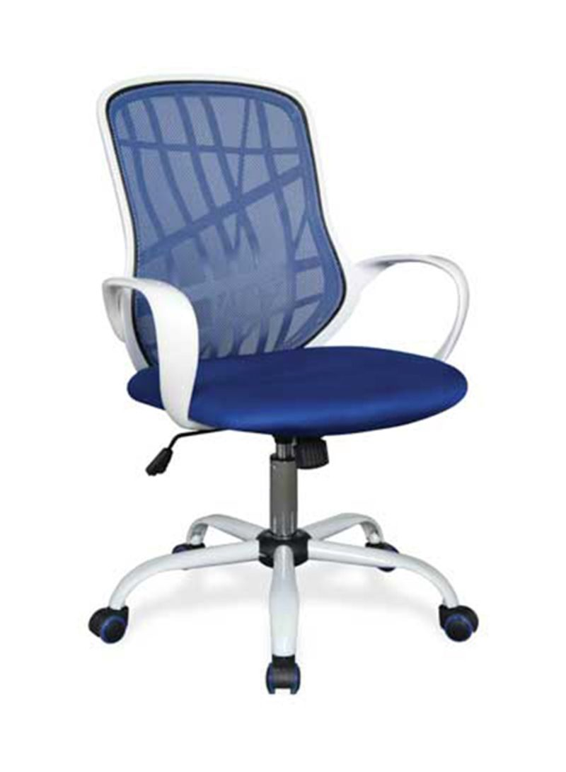 Picture of: Shop Micasa Office Chair Desert Blue White Silver 46x22x46centimeter Online In Riyadh Jeddah And All Ksa