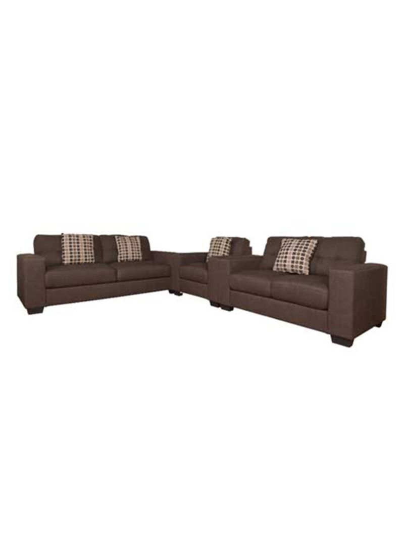 Pleasing Shop Micasa 5 Seater Sofa Set Brown Online In Dubai Abu Unemploymentrelief Wooden Chair Designs For Living Room Unemploymentrelieforg